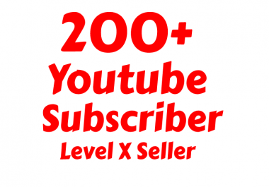 I will add 200+ Youtube Subs-criber