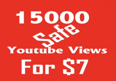 Fast 20000+ YouTube  HQ Views/ Vevo Views Instant start delivery within 3 days