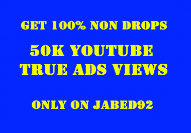 Promote Your Video To Get Youtube 50k True Ads V-iews