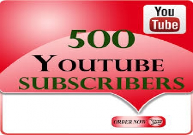 Get 500+ Subscribers in your channe