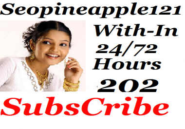 Guaranteed 202+ Youtube Subscriber Non-Drop