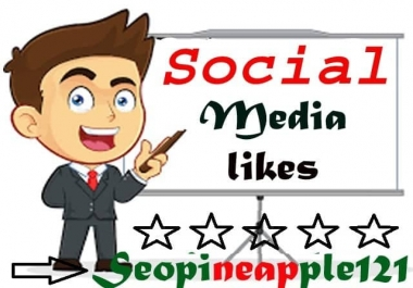 1000 Social Marketing Likes High Quality Exclusive Services