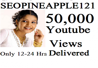 I Will 50,000 Or 50K High Quality Views Fully Safe Instant Start Lifetime Guaranteed