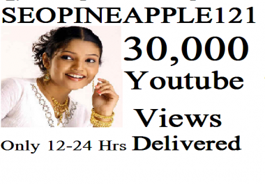 Add 30,000 Or 30K High Quality Views Fully Safe Instant Start Lifetime  Guaranteed