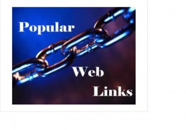 create 160 pr4 to pr9 web 2 profiles dofollw backlinks,indexed them for fresh