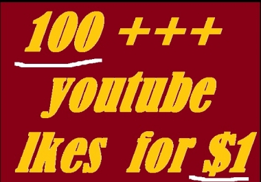 200 Real youtube likes with 24-48 hours in complete only