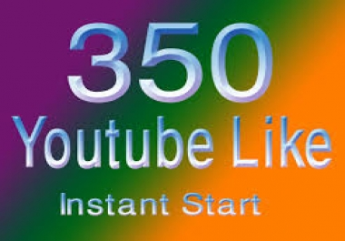 Bumper offer 350 Real you tube likes with 24-48 hours in complete only