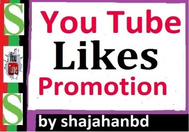 Increase Video Promotion Likes Non Drop Guarantee
