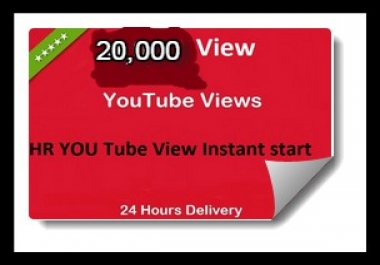 Promote YouTube videos with 4000+ HR views Lifetime