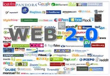 GIVE YOU 5 HIGH PR WEB 2.0 PROPERTIES