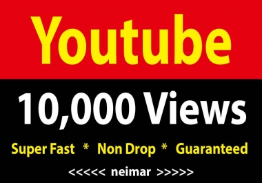 instant 10,000 / 10k Vieews Fully Safe Fast Delivery