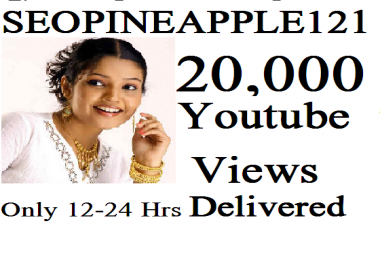 Get 20,000 Or 20K High Quality Views Fully Safe Instant Start Lifetime Guaranteed