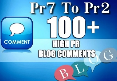 100 SEO Blog Commenting Unique Backlinks Pr2 to Pr7 for AduIt Websites