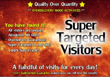 I will send Super TARGETED Traffic with Safe Adsense Earning to your Site or Blog