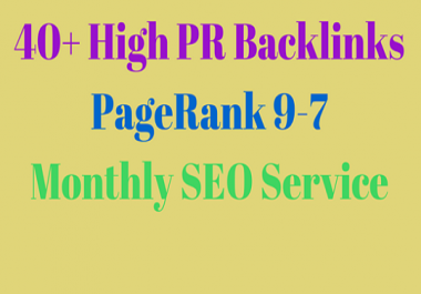 I Will Manually Create High PR Backlinks for Your Website