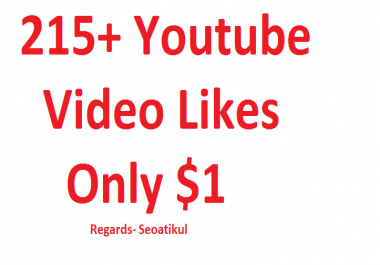 Add fast 215+ Human FAST YOUTUBE Likes RETENTION