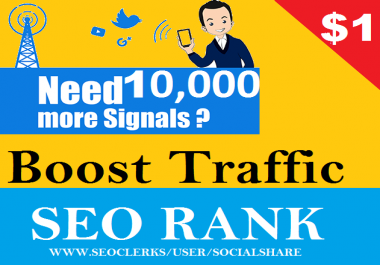 10,000 USA Permanent Social Signals For Affiliate Marketing & Business Promotion Help To Increase Website Traffic