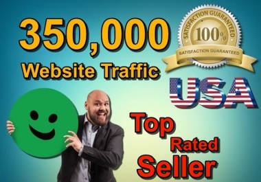 350,000 Keyword Targeted USA Website Traffic By Social Media SEO