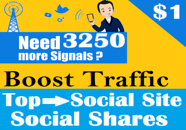Top 6 Social Platform 3250 PR9 Social Signals Important SEO Ranking Factors
