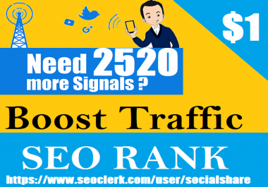 Top 4 Social Platform 2520 Permanent Social Signals Important SEO Ranking Factors