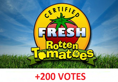 provide 200 votes on Rotten Tomatoes