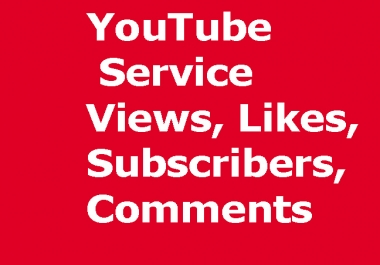 10,000++  YouTube Views real active Never drop Life Time Guaranteed or 2500+ YouTube Likes add your any  YouTube Video or 500+ YouTube Subscribers