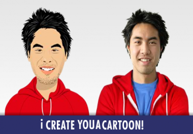 change your picture into a beautiful cartoon character