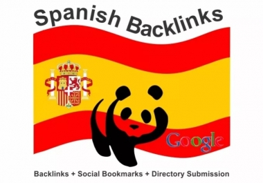 5 Backlinks on unique pages from Spanish blog sites with pagerank PR4-PR1