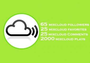 75 mixcloud followers 45 favorites 45 comments and more