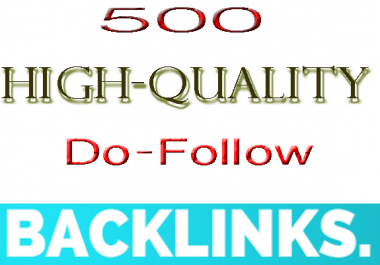 Manually provide you 500 PR 1-9 Do-Follow Backlinks & rank your website in Google