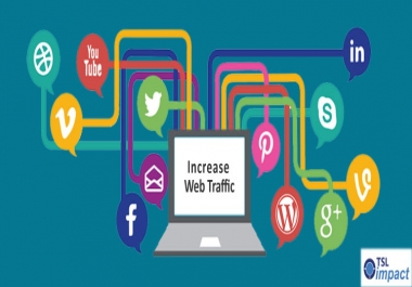 Send 25000 Human Traffic by Google social media Youtubet etc
