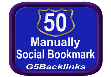 build Top 50 Social Bookmark SEO Backlinks