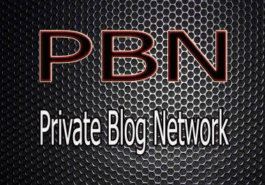 give you 5 High Quality PBN Backlinks