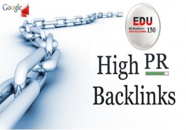 I will create 150 EDU and GOV Seo backlinks