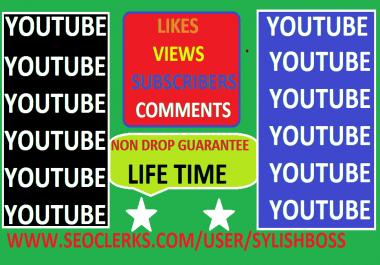 5,000+ YOUTUBE VIDEO LIKES AND FREEE BONUS 1 YOUTUBE COMMENTS AND 10 YOUTUBE SUBSCRIBERS AND 500 YOUTUBE VIEWS SAFE NON DROP LIFE TIME GUARANTEE