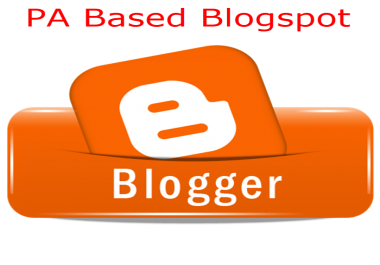 Provide High PA Expired Blogspot Accounts