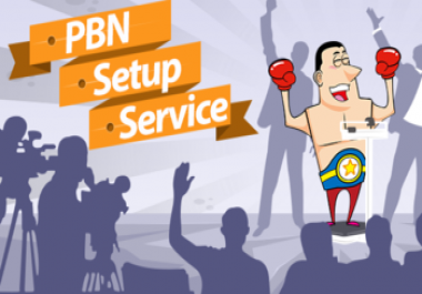 Provide 40 High PR PBN Setup with Blog Posts Powerful SEO
