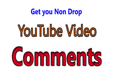 Get 10 YouTube Custom Comments & 10 likes on your video
