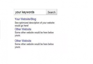 seo optimize your page for proper search engine organic traffic marketing