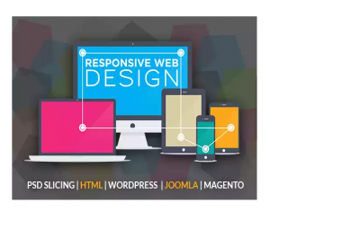 convert your website to Mobile Responsive