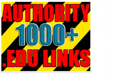 make over 1000 VERIFIED live edu links