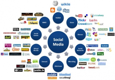 1000 social signals from top 12 social networking sites