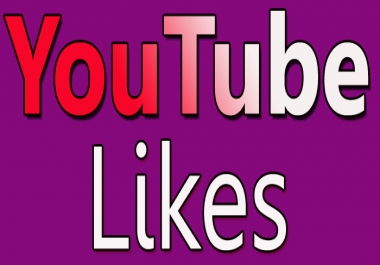 I will provide 110+ YouTube likes FAST