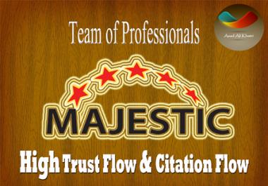I will provide 45 high Trust flow and citation flow Dofollow backlinks on high DA