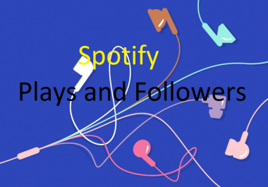 Spotiify guaranteed 1000+ playlists followers or 1500+ HQ followers or 2000 HR plays