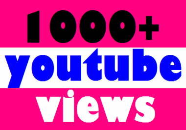 I DRIVE YOU 1000 HQ NON DROP LIFETIME AUDIENCE RETENTION YOU TUBE VIDEO VIEWS YOUR ACCOUNT