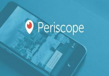 Buy Periscope Followers 200