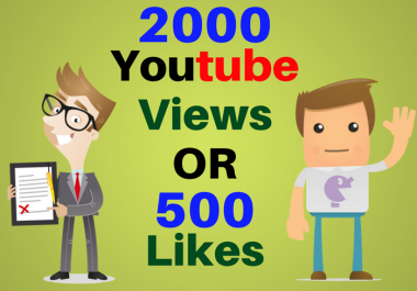 i provide you 2000 VIDEO boost