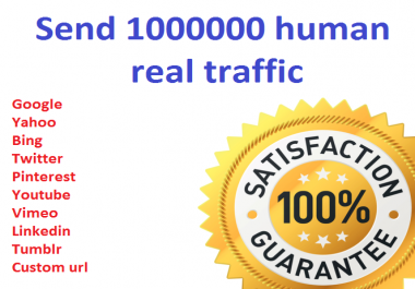 1,000,000+ Keyword Targeted GOOGLE traffic Real humans