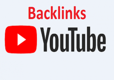 Youtube SEO Package- Manually High PR 100 Backlinks for Youtube Organic Ranking